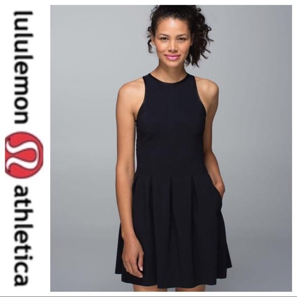 lululemon athletica Dresses & Skirts - 💕SALE💕 Lululemon Black Here to There Dress